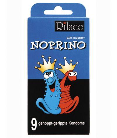 Rilaco condoms noprino 9pcs. Προφυλακτικό 9 τεμ. με ραβδώσεις- κουκίδες.