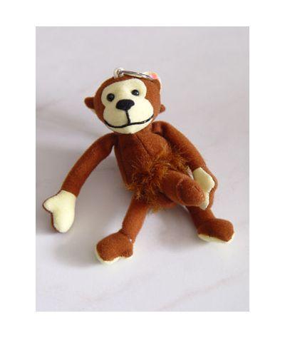 Monkey keychain.Πίθηκος μπρελόκ.
