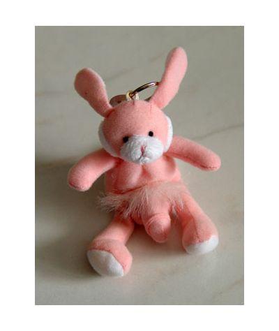 Bunny keychain. Λαγουδάκι μπρελόκ.