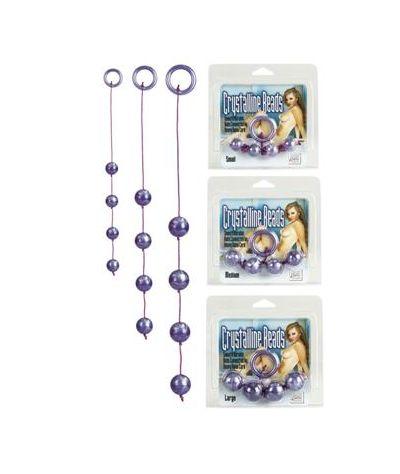 Acrylite anal beads small. Χάντρες διαμέτρου 1,50 εκ.
