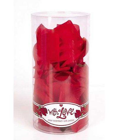 Rose petals silk. Ροδοπέταλα από μετάξι.
