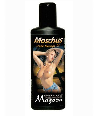 Magoon moschus massage oil 100 ml. Λάδι μασάζ μόσχος.