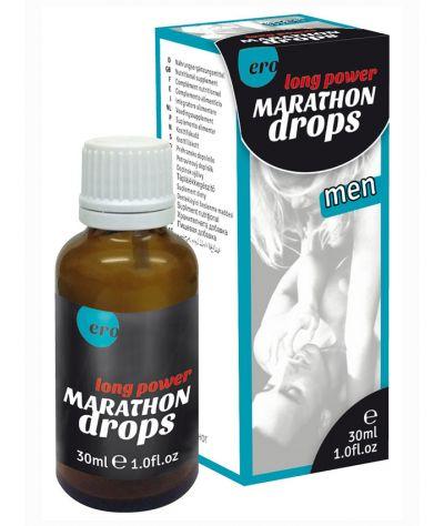 ERO  Marathon men Long Power Drops 30ml. Σταγόνες καθυστέρησης.
