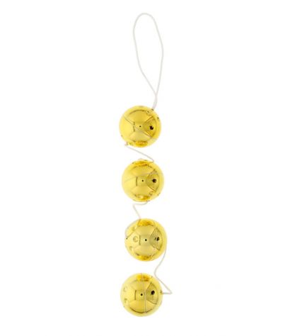4 gold balls. 4 κολπικά μπαλάκια.