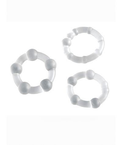 Pro Rings 3er Set transparent