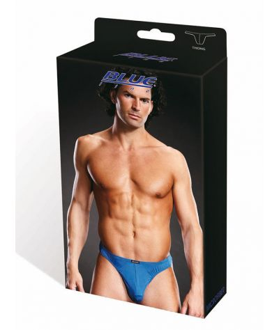 Performance Microfiber Thong blue. Σλιπ αντρικό.