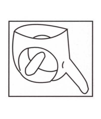 Latex penis slip w dildo. Λάτεξ σλιπ με προφυλακτικό και  πρωκτικό ομ. Μαύρο
