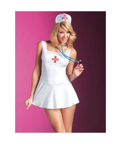 Nurse on call. Άσπρο
