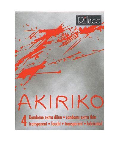 Rilaco Akiriko λεπτά προφυλακτικά 4τεμάχια.