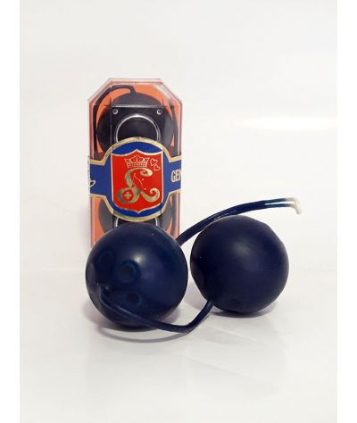 Blue black  latexa ball. Κολπικά μπαλάκια.