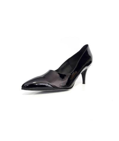 Heel shoes. Γόβες 9 εκ . τακούνι. Μαύρο