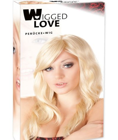 Wavy Blonde Wig one size