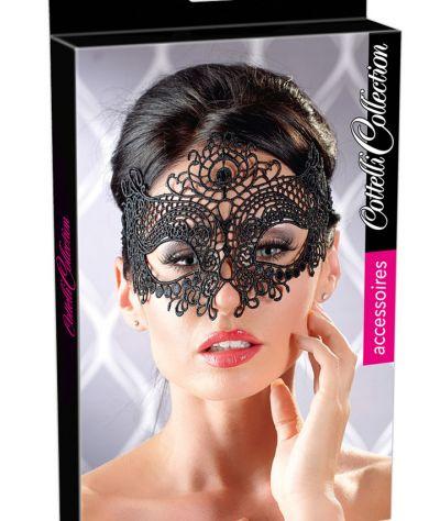 Embroidered Mask Δαντελένια μάσκα σε Βενετσιάνικο στυλ.