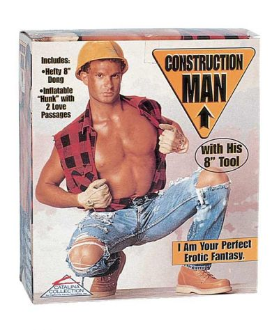 Construction man doll. Κούκλος.