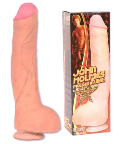John Holmes UR3 realistick cock 32 cm. Ομοίωμα UR3 με βεντούζα.