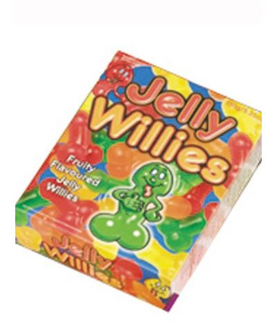 Jelly Willies 150g. Καραμελάκια  σε σχήμα μορίου.