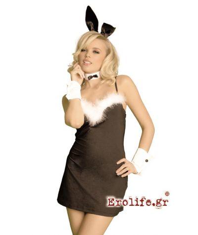 X costume bunny mini dress. Λαγουδάκι φόρεμα.