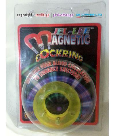 Jel lee magnetic cockring. Μαγνητικός δακτύλιος.