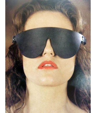 Mask leather. Μάσκα δερμάτινη τυφλή.
